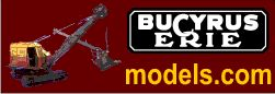 Bucyrus Erie scale models by EMD